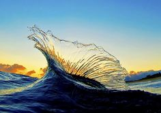 In pictures: Clark Little's photographs of breaking waves