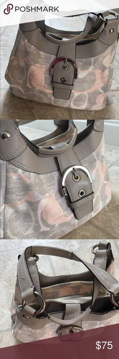 Authentic Coach Purse! Super cute Coach Purse! Perfect for spring! Used a few times. In like new condition. Coach Bags