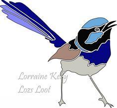 Blue Wren Australian Bird