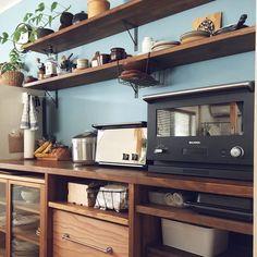 Tiny Apartment Living, Apartment Design, Interior Design Kitchen, Kitchen Decor, Japanese Kitchen, Kitchen Organization, Home Kitchens, Mason Jars, Sweet Home