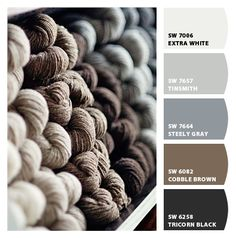 I absolutely love this color scheme! Fell in love with the heather grey, want everything in that color!