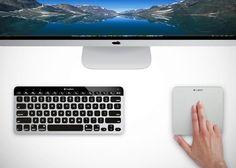 Teclado y trackpad de Logitech: Logitech Rechargeable Trackpad y Easy-Switch Keyboard: nueva competencia para Apple