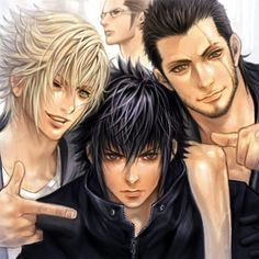Final fantasy versus 13 by ~Punktormaline (Also known as Final Fantasy XV) #ff15