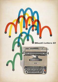 #graphic Excelente gráfica para Olivetti Lettera 22