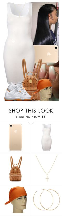 """""""Untitled #1129"""" by msixo ❤ liked on Polyvore featuring American Vintage, MCM, Sydney Evan and Allison Bryan"""