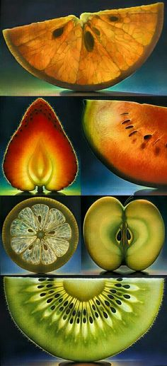stunning fruit photography - eat | raw foods - styling - fruit - healthy - art - idea - ideas - inspiration - light - glowing - food - unique