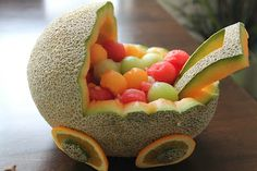 Melon Fruit Baby Carriage
