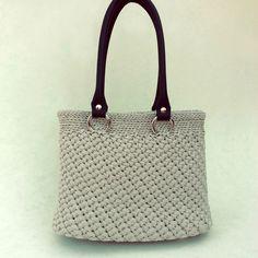 Crochet Bag Grey