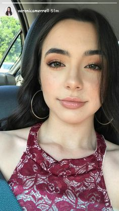 Veronica Merrell💄 discovered by Abigail . Beauty Makeup, Hair Makeup, Hair Beauty, Merrell Twins Instagram, Merrill Twins, Veronica And Vanessa, Veronica Merrell, Vanessa Merrell, Everyday Makeup