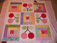 Darling Jill Quilts: Quilt #16 - Cherries!