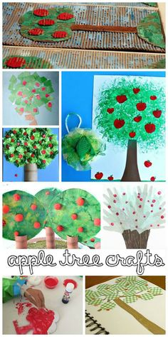 Apple Crafts for Kid
