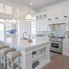 Wonderful white distressed kitchen cabinets only on indoneso.com