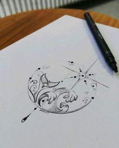 Best 11 fishman mandala tattoo design by Benz.Com Best 11 fishman mandala tattoo design by Benz. Ocean Tattoos, Mermaid Tattoos, Body Art Tattoos, Starfish Tattoos, Beach Tattoos, Mermaid Tattoo Designs, Form Tattoo, Hand Tattoo, Wrist Tattoo