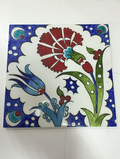 Sachiko yıldız çini karo Turkish Art, Turkish Tiles, Ceramic Painting, Silk Painting, Talavera Pottery, Persian Motifs, Islamic Patterns, Cup Art, Boho Home