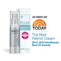 Age Intervention Retinol Plus -  Award-winning anti-aging solution combining highly concentrated retinol PLUS peptides and antioxidants for the most dramatic improvement in the appearance of fine lines, wrinkles and skin texture.