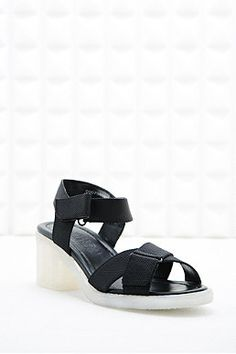 db4f4a38d81 Out From Under Kris Nylon Strap Jelly Sandals Urban Outfitters Women