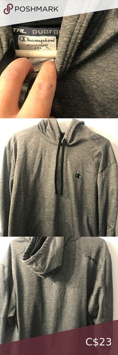 Champion power train hoodie Hoodie is in excellent condition no flaws Champion Sweaters Shop My, Man Shop, Champion, Gray Color, Flaws, Men Sweater, Train, Hoodies, Best Deals
