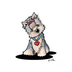 http://fineartamerica.com/featured/butternut-yorkie-kim-niles.html