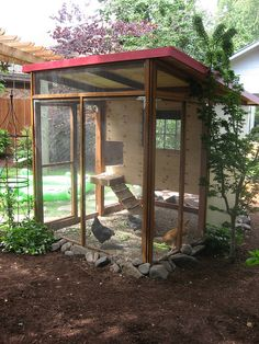 urban chicken coop... I think I need one of these n some pretty little girls in my backyard 8)