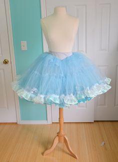 Cinderella inspired petticoat.