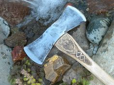 Vintage Collins double headed axe with hand by ToastedBoardzShop, $89.00