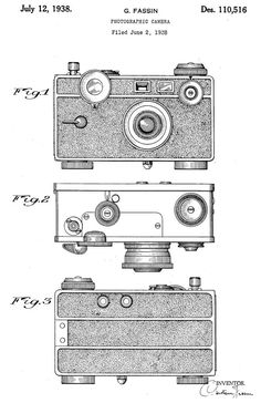 Camera Patent Wall Art Poster by PatentPrints on Etsy