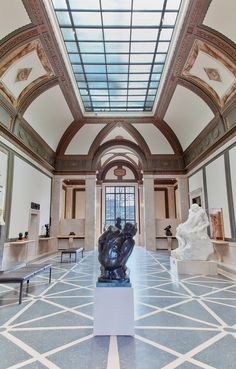 "Rodin Museum, Philadelphia-Home of the greatest Rodin collection outside of Paris. The museum houses 124 sculptures, including ""The Thinker."""
