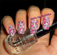 Nails by Malinka: Tulpen - Big SdP-O - Tulips