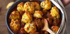 Pomalu vařené hovězí s polentovými knedlíčky