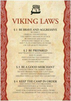 Books of Shadows: Viking Laws. Viking culture is so beautiful. Citations Viking, Viking Quotes, Viking Sayings, Norse Pagan, Norse Goddess, Norse Mythology Goddesses, Norse Runes, Viking Life, Viking Camp