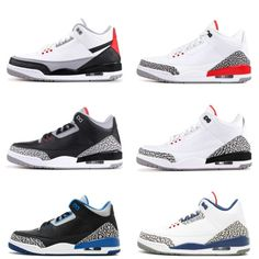 962a6087c5e7 III Black white Cement three Basketball Shoes tinker blue hurricane red New  2018 sneakers mens trainers Size 7-13 Michael Sports