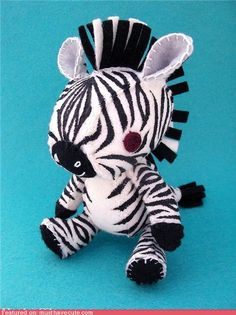 cute kawaii stuff - Zebra Plush