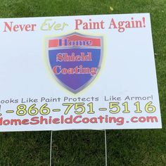 Why Paint Again?  We've been asking customers this very question for over 18yrs. There is no need to continue painting or staining the exterior of your property with outdated technology. Home Shield Coating® is a permanent exterior coating that's designed to be a money saving alternative to repainting or staining. Home Shield, Saving Money, Home Goods, Alternative, Exterior, Technology, Coat, Painting, Design