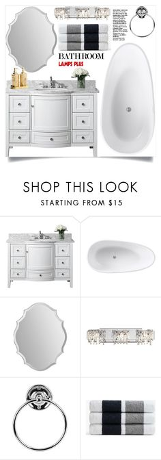 """Bathroom!"" by samra-bv ❤ liked on Polyvore featuring interior, interiors, interior design, home, home decor, interior decorating, James Perse and bathroom"