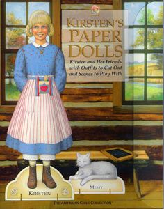 American Girl Kirsten Paper Doll.This From Freebird583 - MaryAnn - Picasa Web Albums