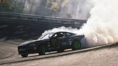 Vaughn Gittin Jr., Ford Mustang RTR make history with Formula Drift win