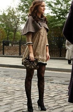 The Glam Guide: Blair's Lace Stockings in Gossip Girl - #hosiery