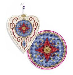 Medallion ornament