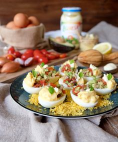 Club Ligeresa - Foodie: Huevos Rellenos De Guacamole Con Ligeresa