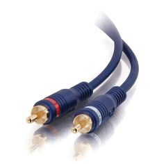 Cables To Go C2G 6ft Velocity RCA Stereo Audio Cable