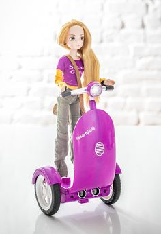 Jen Doll with Siggy