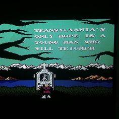 Shared by truckinfoos #nes #microhobbit (o) http://ift.tt/2mMXBwq woot just beat #CastleVania2 #SimonsQuest #NES #Nintendo #CastleVania2SimonsQuest