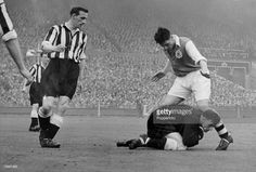 May 1952 FA Cup Final at Wembley Newcastle United 1 v Arsenal 0 Newcastle United goalkeeper. Bristol Rovers, Fa Cup Final, Goalkeeper, Newcastle, Arsenal, Finals, How To Memorize Things, Football, Memories