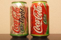 Cola light citra & cola citra