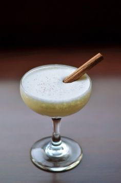 A Most Decadent Holiday Tradition: The White Minx Cocktail