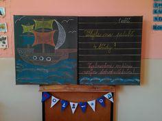 Námořníci - 1. září, první školní den; Sailor themed classroom