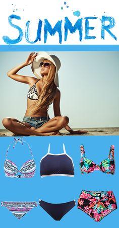 Auf der Suche nach dem #Sommer! Pack Deinen #Bikini ein und ab in den Urlaub! Mit diesen Teilen siehst du am #Strand super aus ♥♥