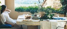 The Hotel Crillon Le Brave, a hotel in the heart of the Vaucluse, invites you to discover its restaurants and the Spa des Écuries. Provence, Brave, Table Decorations, Luxury, Home, Luxury Hotels, Ad Home, Homes, Haus