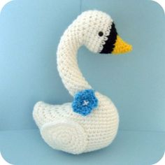 PDF Amigurumi Swan Pattern Crochet by AmyGaines on Etsy