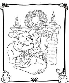 The 154 Best Christmas Coloring Pages Images On Pinterest